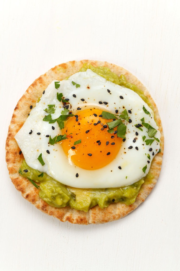 Fried Egg Avocado Toast