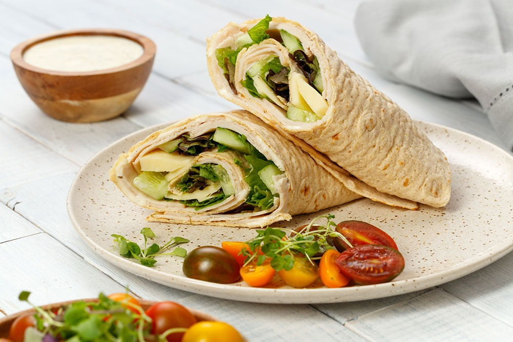 Turkey Cucumber Wrap