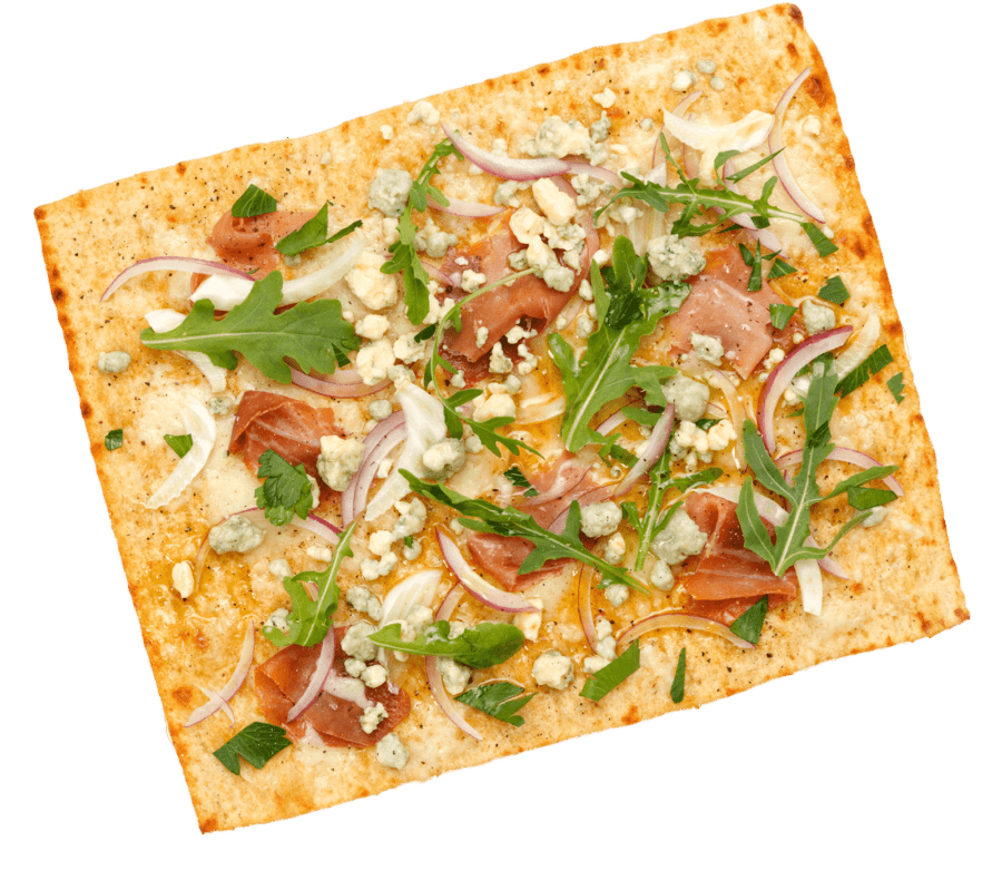 Lavash pizza.